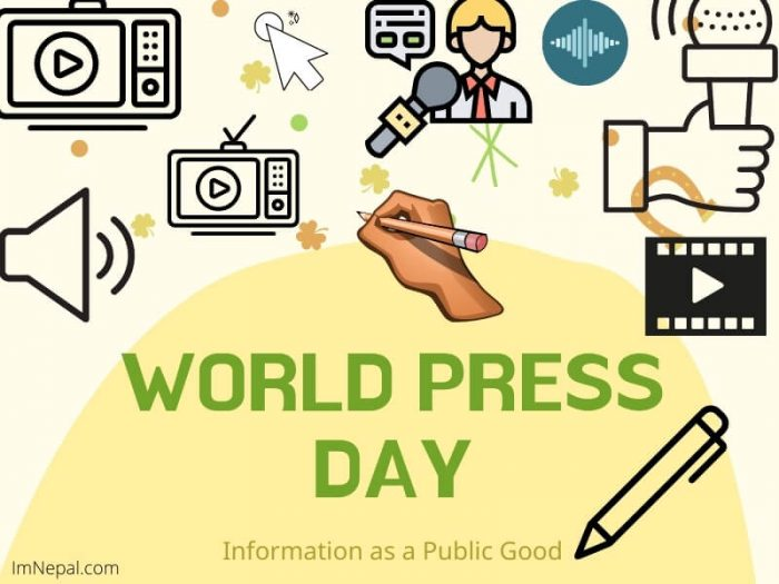 World Press Freedom Day greeting cards