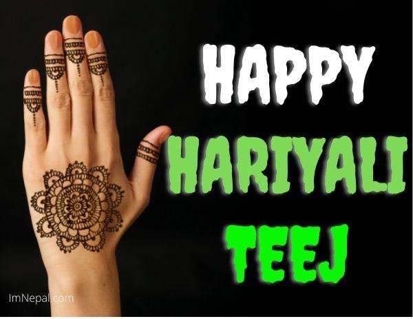 Happy Hariyali Teej Images Wishes