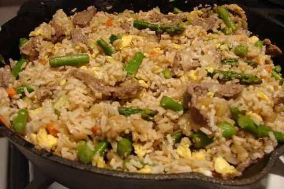 Masu Pulao Fried Rice Meat