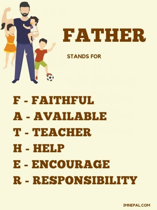 full form of father