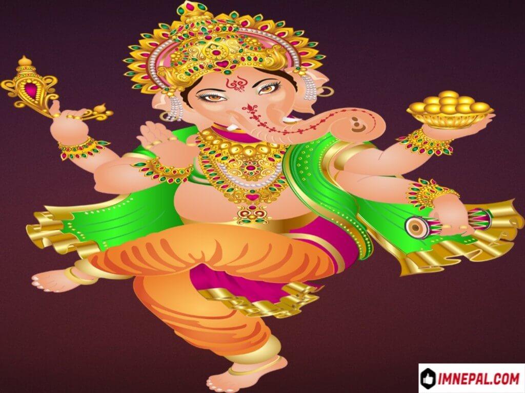Lord Ganesha Hindu Deities Images Wallpapers