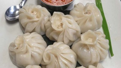 How to Cook Chicken Momos with Soup