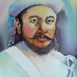 Amar Singh Thapa, a national hero of Nepal, Gorkha, A bravery man in the history of Nepal. Who never knew to bend down.