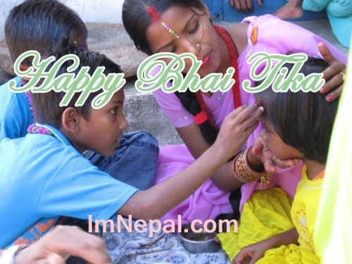 320 Bhai Tika SMS for Brother in Nepali & English Language