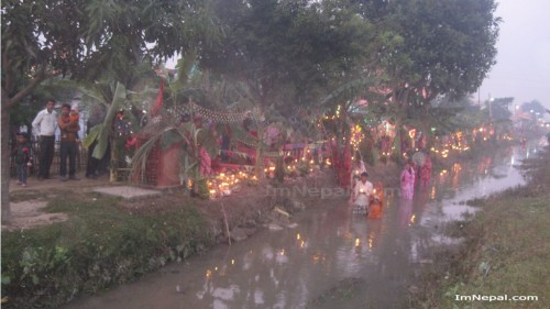 Chhath Puja Festival Nepal Images