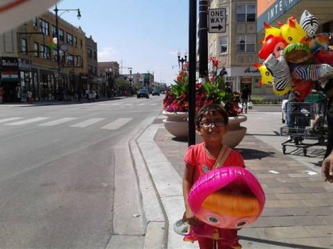 Nepali Cute Baby girl in Cicago, USA