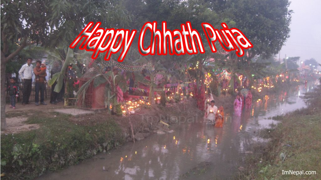 beautiful Chhath Puja Wallpaper. Download Free this Chhath Pooja cards