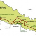 mahendra rajmarg of nepal highway map facts