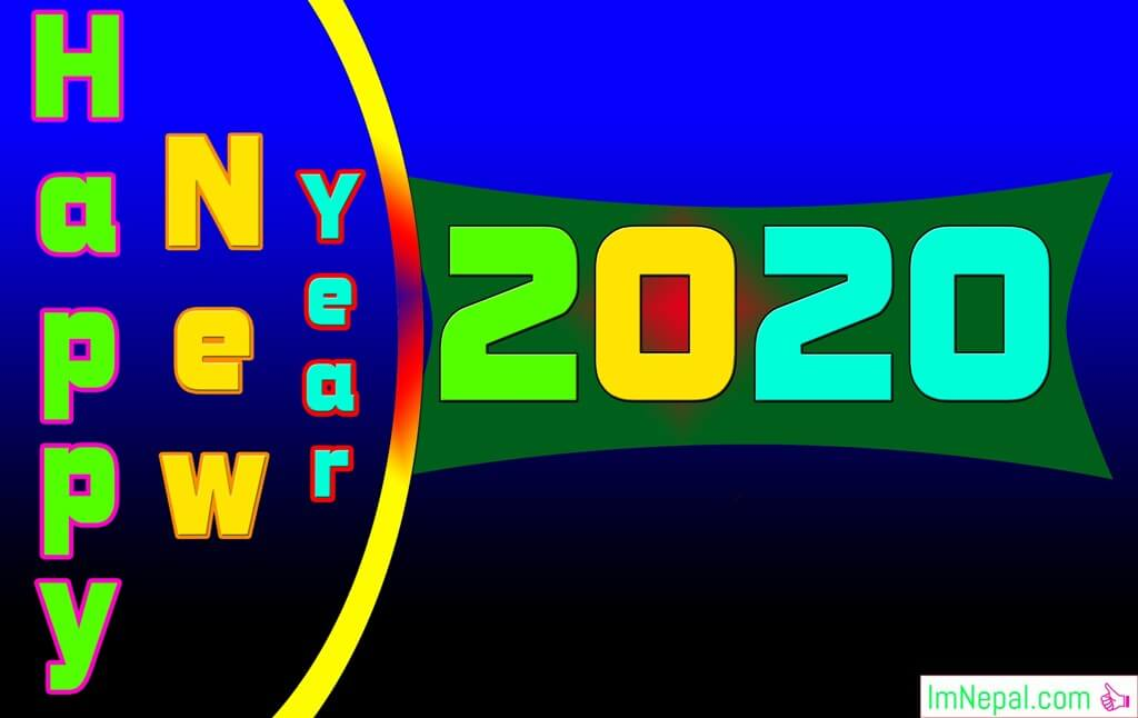 Happy New Year 2020 Greetings cards Wishes Image