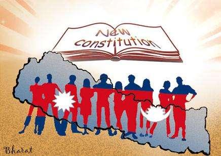 New Constitution of Nepal sarkar naya sambidhan