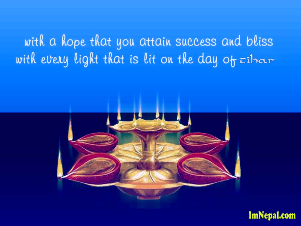 Happy Tihar Dipawali Greeting Cards HD Wallpapers Wish Quotes Pictures Images