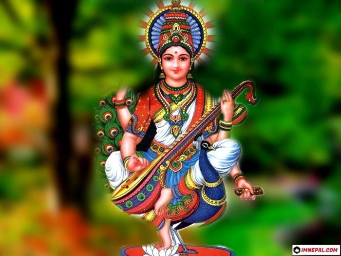 mata saraswati puja vasanti panchami shree panchami Nepal india goddess of knowledge