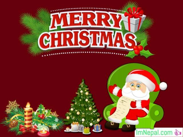 Merry Happy Christmas Greetings Santa Cards HD Wallpapers Wishes Messages Quotes Pictures Image Photos
