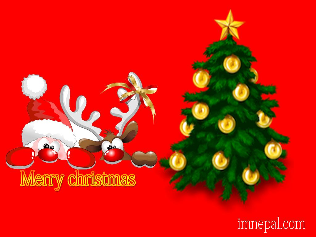 40 Merry Christmas Day 2019 Greeting Cards Wallpapers Designs