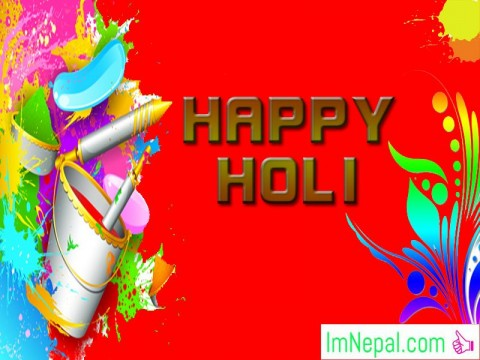 Happy Holi Festivals Hindu Greetings Cards Wish Images Pictures Messages HD Wallpapers Quotes PHotos Pics