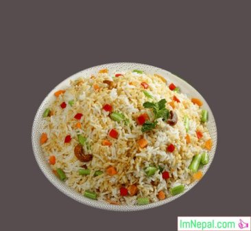 Rice Pulao Indian and Nepali Recipes Dish Foods