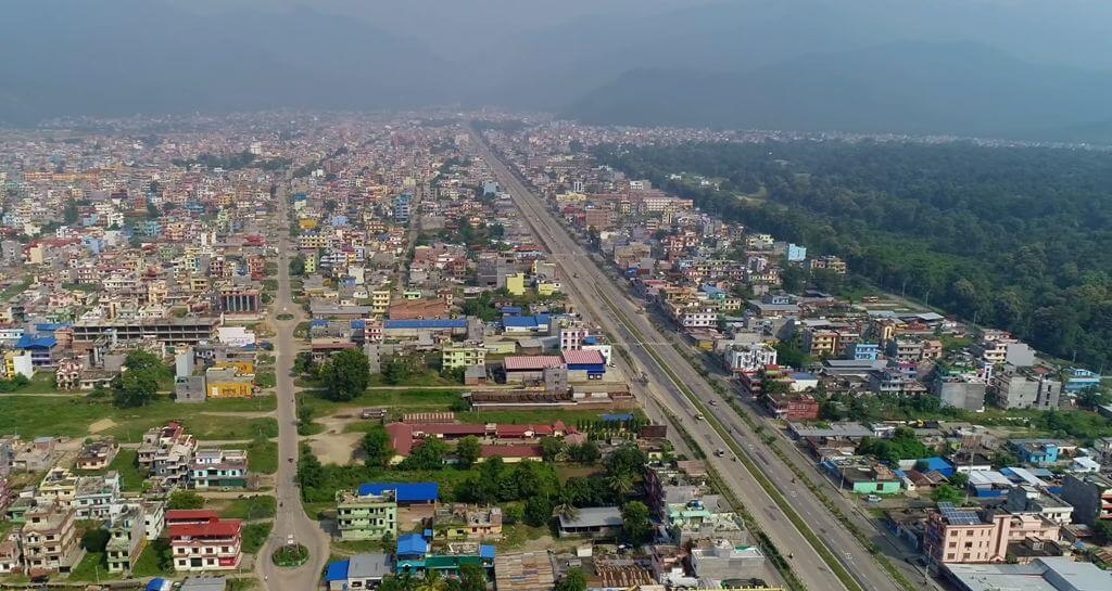 Butwal Nepal City Town