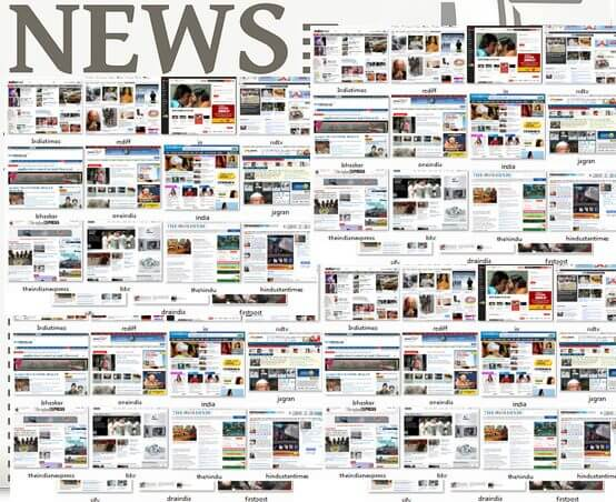 News Websites in India online