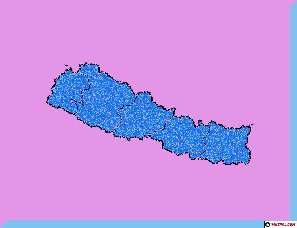 Nepal Map HD images