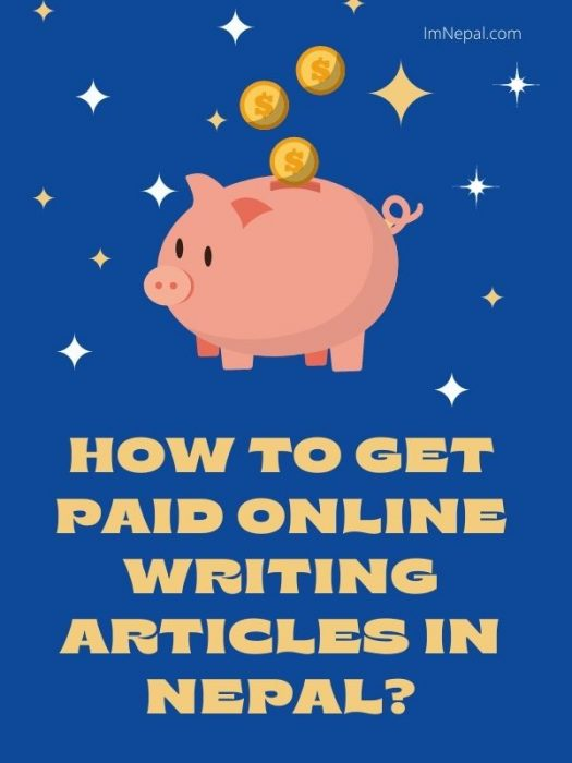 How to get paid online writing articles in Nepal