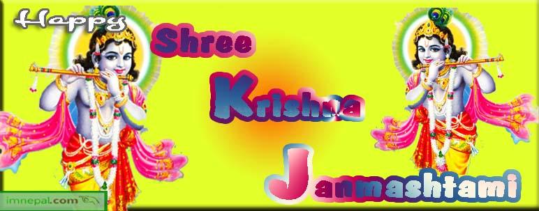 Happy Shree Shri Krishna Janmashtami Jayanti Birthday Greetings Wishing ECards Images HD Wallpapers Quotes Pics Pictures