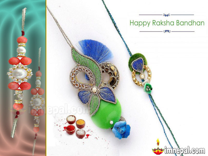 Raksha Bandhan Greeting Cards Wishing Messages, Wishes HD wallpapers, Pictures, images, pics, Quotes Brother Sister Hindu Festival Rakhi