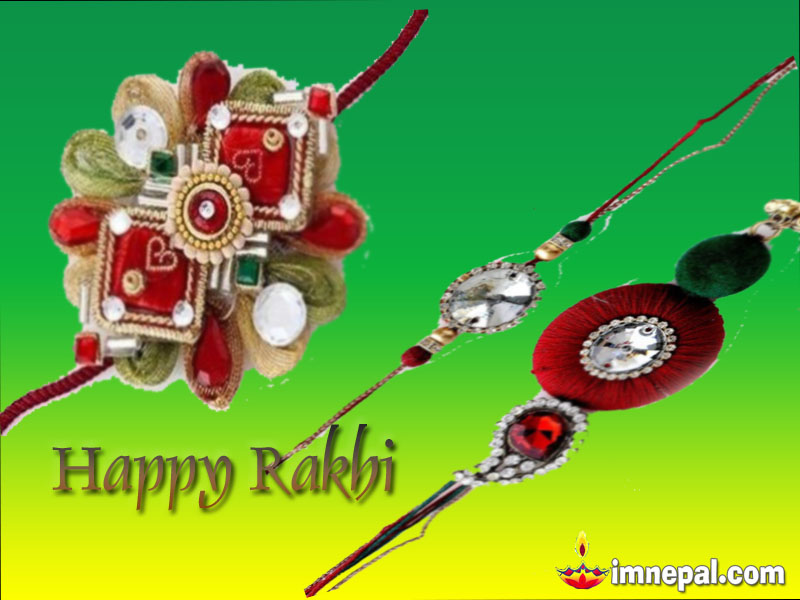 Raksha Bandhan Greeting Cards Wishing Messages, Wishes HD wallpapers, Pictures, images, pics, Quotes Brother Sister Hindu Festival Rakhi (49)