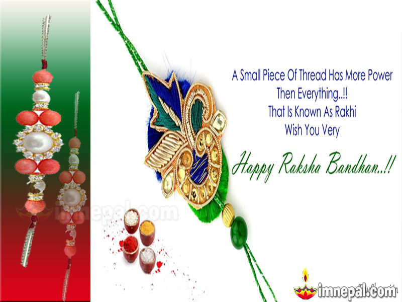 Raksha Bandhan Greeting Cards Wishing Messages, Wishes HD wallpapers, Pictures, images, pics, Quotes Brother Sister Hindu Festival Rakhi (50)