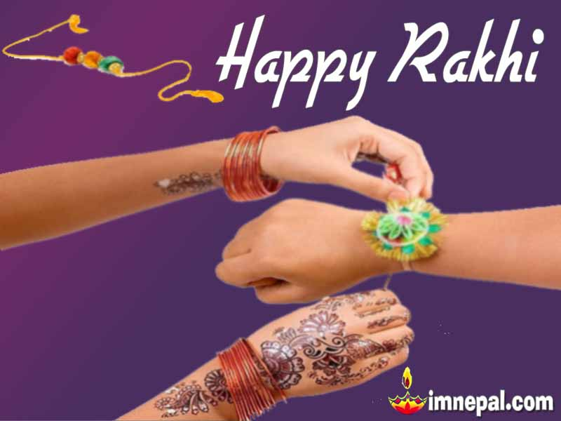 Rakhi Wishes to Sister Rakhi Janai Purnima Greeting Cards Wishing Messages, Wishes HD wallpapers, images, Quotes Brothers Sistesr Festival pictures