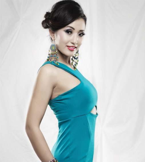 Subin Limbu Miss Nepal Picture