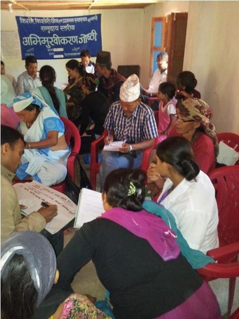 health education nepal in hospital