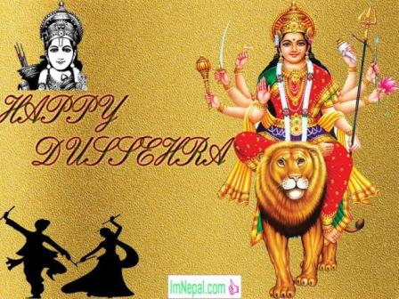 Happy Dussehra Dasara Dashara Greeting Cards Wishes Quotes Images Navratri English Hindi Durga Mata God Rama messages Photos