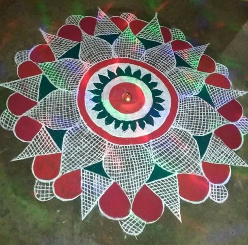 diwali rangoli pictures decoration