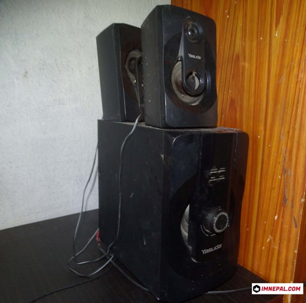 load speaker picture for party
