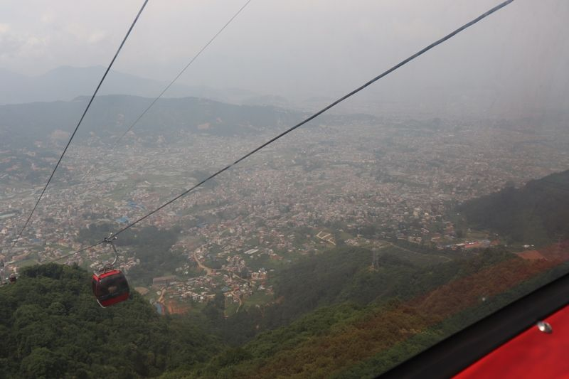 Beautiful Kathmandu Views from Chandragiri Hills Station Kathmandu Nepal Cable car places Travel Visit Destination Picture
