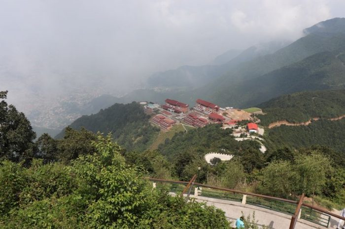 Beautiful views from Chandragiri Hills Station Kathmandu Nepal Cable car places Travel Visit Outing Destination Picture