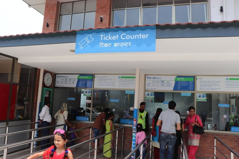 Ticket Counter Chandragiri Hills Station Kathmandu Nepal Cable car places Travel Outing Destination Picture