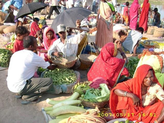 colourful bazaars market of madhesh terai region of Nepal