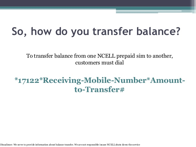 how-to-transfer-balance-from-ncell-to-another-ncell-nepal-picture