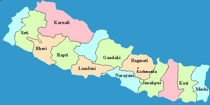 Name of 14 Zones in Nepal with Facts & Information