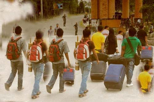 nepalese students going abroad study