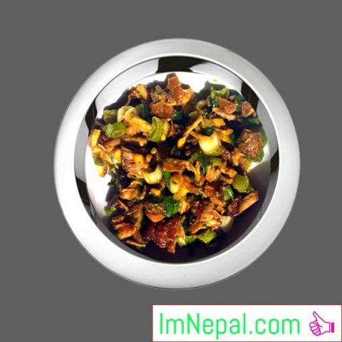 Chhoila Nepali recipes dishes