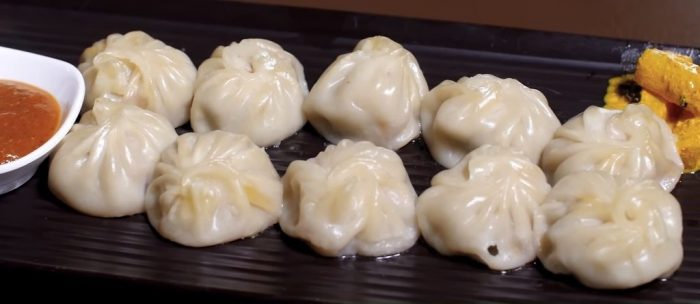 Momo recipe food
