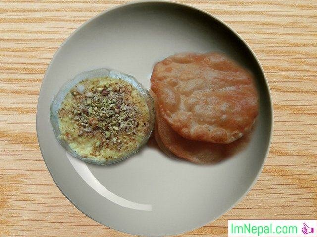 Puri Kheer Nepali recipes