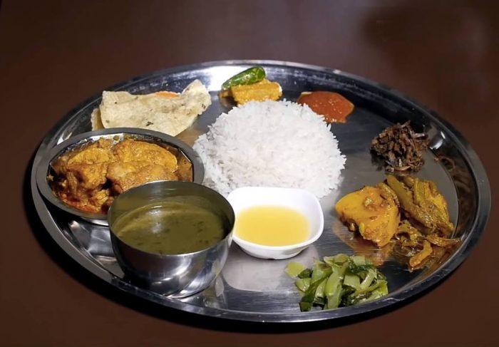 Thakali Khana Nepali recipe food