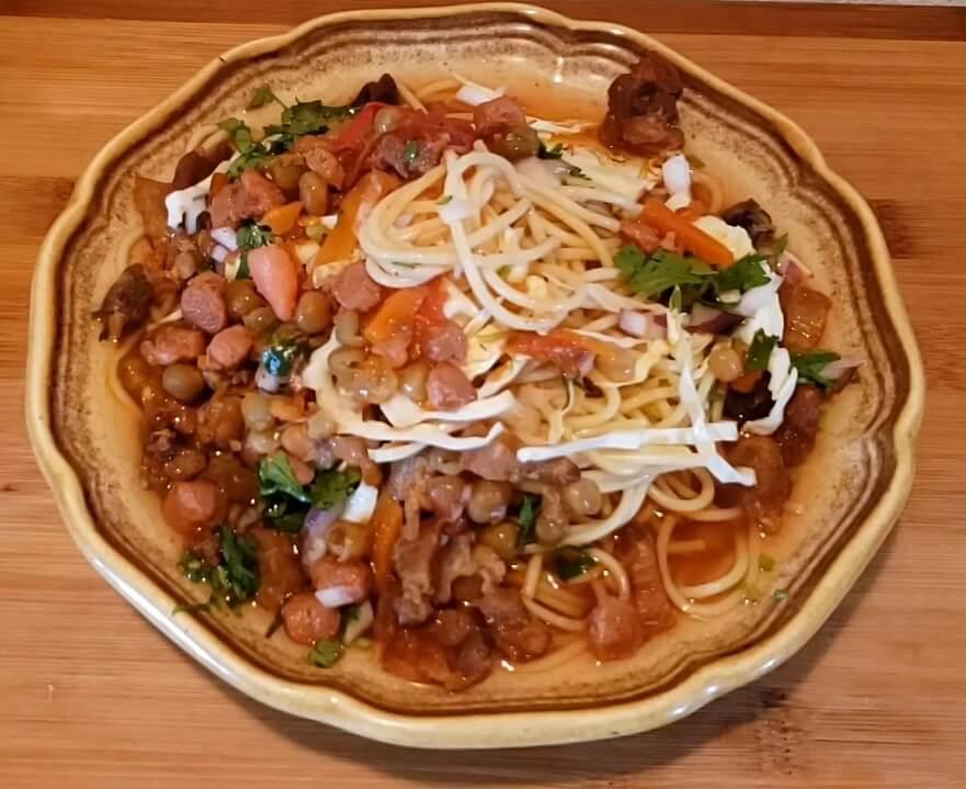 Tukpa Nepali recipe food