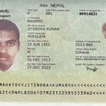 nepali passport