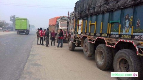 public instability transportation truck Nepalese politics