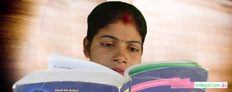 student girl female married woman reading books