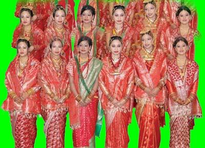 Nepalese girls woman ladies for marriage bibah